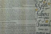 Deuteronomy Bible Journaling
