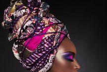 Pañuelos africanos para la cabeza