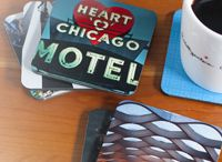 Coffee Table | Photo Gallery / Turning your coffee table into a beautiful photo gallery with coasters