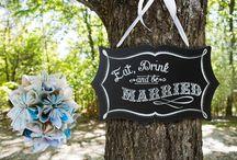 Wedding Signs / http://www.weddingfaire.com.au/signs/
