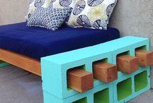 crib mattress repurpose / by Amy Kleinpeter