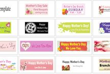 Mother's Day | Banners.com / Mother's Day Banners, Mother's Day Gift Ideas and more!