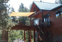 109 Kelseya Cir., Pagosa Springs, CO 81147 / Listing Broker - Shelley Low  HUGE VIEWS and easy to maintain home. This is located so close to town and yet you feel as though you are tucked into the forest. Paved road to the property as is the driveway that leads to your haven tucked in the trees. Sit out on the large deck and listen to the breeze through the trees. You wont see any other homes just views.