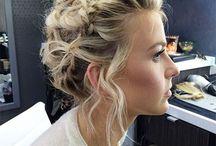 wedding hair updos & accessories