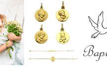Bijoux / Offrez lui son premier Bijou ! Retrouvez notre sélection de Bijoux créé par des Bijoutiers et Joailliers ! Des bijoux de qualité que votre enfant pourra garder toute sa vie ! Que ce soit pour une naissance, un anniversaire, une cérémonie ou juste pour le plaisir d'offrir !