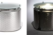 •• Recycled Washing Machine Drums ••