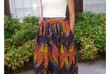 African wear / Both men nd woman