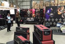 Headstock Distribution expo 2016 / All the Brand new equipment from Ibanez, Tama, Zildjian, Dimarzio and Laney from the Headstock distribution expo 2016