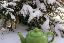 Cozy Winter Tea / Winter is one of the best times for tea because it can warm, comfort, and relax. This board is all about tea in the Winter