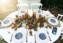 Thanksgiving/Christmas Decor