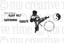 Black Belt / Inspiration for this stamp set!