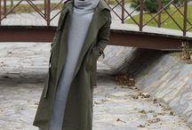 Winter fashion hijab
