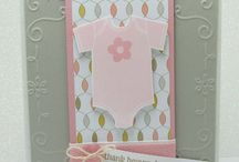 Baby & Toddler Projects / These baby cards are criminally cute! For more ideas, visit songofmyheartstampers.com and for great stamps like these, visit my store @ bit.ly/shopwithLyssa