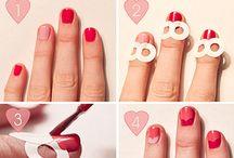 face + nails