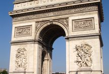 Arc de Triomphe / One of the many well known monuments and tourist attractions in Paris is the Arc de Triomphe which can be found on the Charles de Gaulle square, and also at one of the ends of the Champs Elysees but also boats some fantastic architecture.