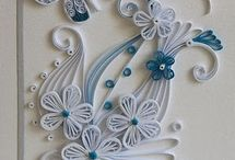Quilling / Quilled Creations / by Smita