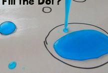 Vesiteema päiväkodissa / Kalat, meri, ravut, kokeet - kaikki teemaan vesi liittyvä.