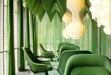 Salone di Mobile 2015 hangulatok / Zöld árnyalatai & változatai