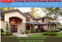 BUILD REAL ESTATE WEALTH with FLIPPING4PROFIT / Build real wealth in real estate on the flipping4profit platform. Wherever you are on the planet, your wealth grows exponentially with or without referrals! Explore @ www.flipping4profit.com/wonder