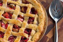 Cakes Pies + Tarts / Amazing cakes, pie recipes, tarts, quiches and galette recipes. Sweet or savory.