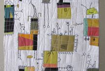 Free quilting