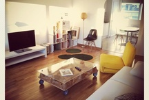 Pétula in your home / Objects made by Petula Plas in their new home.