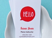calling cards and design ideas / by Beth Tunnell