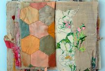 fabric sketchbooks