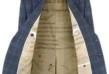 Bespoke Tailoring / Celebrating the craft of bespoke tailoring.