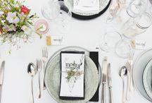 Diner / Diner party inspiration