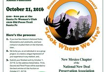 Call for Artists of All Ages / The New Mexico Chapter of the National New Deal preservation Association has put out a call for artists for its Oct 21, 2016 annual fundraiser. http://newdeallegacy.org/call-for-artists/