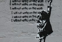 The writing on the wall!