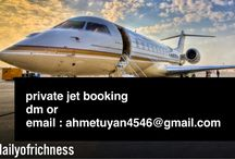 Private Jets / Luxury lifestyle
