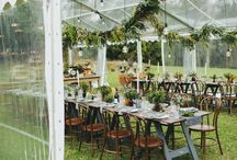 Hanging Installations / floral hangings
