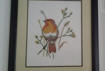 Nakışlarım / Embroidery , Cross Stitches , Needlework , Handmade