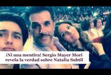 ¡Ni una mentira! Sergio Mayer Mori revela la verdad sobre Natalia Subtil