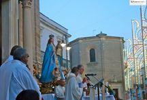 La festa della Madonna del pane a Novoli
