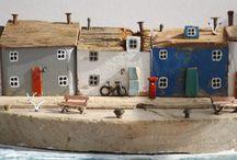 Деревянные домики / Wooden houses