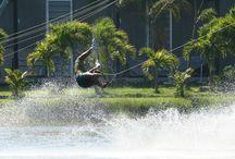 Wakeboarding in Thailand / Various wakeboarding photos around Thailand