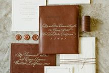 Wedding Invitations- Leather