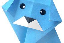 Origami Dog / by HappyBigDog .com
