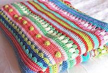 Cobertores de croché
