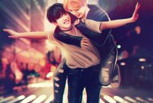 Amazing Kpop fanarts [mostly BTS and EXO]