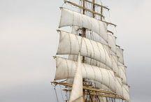 Корабли,море.....