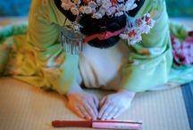 Japanese  kimono photo