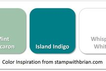 colours stampin up