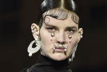 Facial Jewelry by Givenchy / Would you wear these?