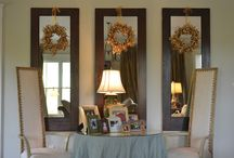 decorating with mirrors / by Maureen Derwent