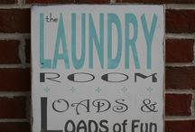 Laundry Room / it's laundry today, or NAKED tomorrow!