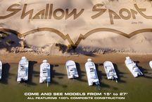 Shallow Sport Boats / Shallow Sport builds vessels 15 - 27 feet.